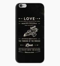 Love - Capt. Malcolm Reynolds (Serenity) iPhone Case