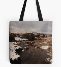 On The Way To Croaghnageer Tote Bag