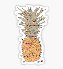 Tropical Lights Sticker