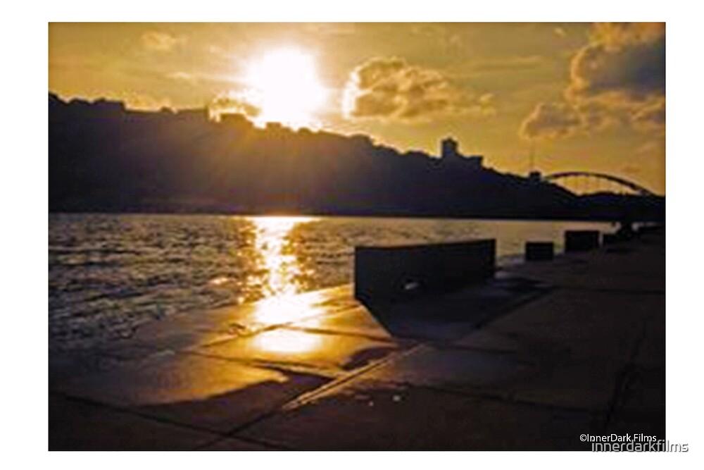 Sunset River City by innerdarkfilms