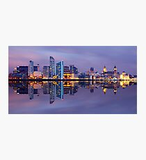 Liverpool Skyline Photographic Print