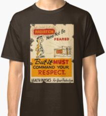 Radiation 1950 poster vintage Classic T-Shirt