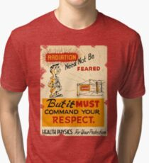 Radiation 1950 poster vintage Tri-blend T-Shirt
