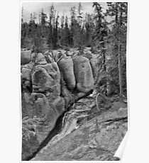 Terraced Falls Chasm #2 Poster