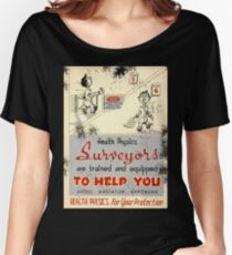 Health Physics 1950's t-shirt vintage  Women's Relaxed Fit T-Shirt
