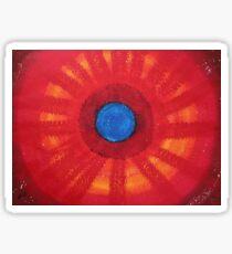 Medicine Wheel original painting Sticker