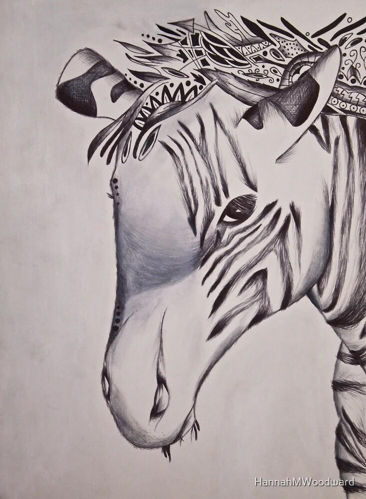 Zany Zebra  by HannahMWoodward