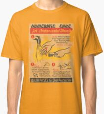 immediate care contaminated 1950's t-shirt Classic T-Shirt