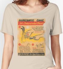 immediate care contaminated 1950's t-shirt Women's Relaxed Fit T-Shirt