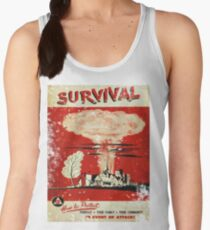 Survival nuclear 1950's Vintage T-shirt Women's Tank Top