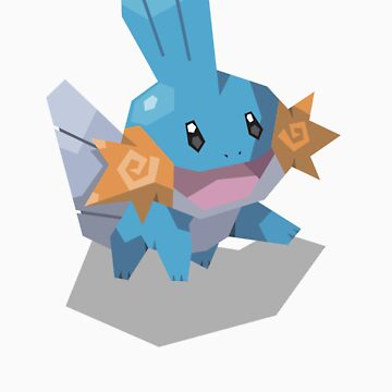 Cutout Mudkip by Avertis