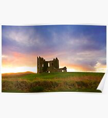 Ballycarbery Castle,Cahersiveen, Co.Kerry Poster