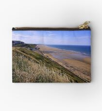 Saltburn on Sea, from the Cleveland Way Trail, North North Yorkshire, England/ Studio Pouch