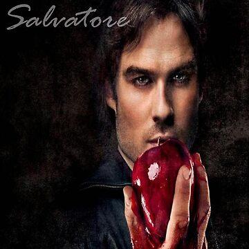 Damon Salvatore by rivendellkid