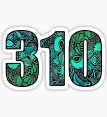 310 Doodle Sticker