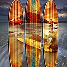 Mauao Wave Riders by Ken Wright