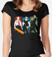 Blood and Ice Cream  Women's Fitted Scoop T-Shirt