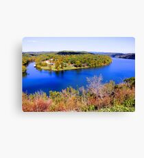 Table Rock Lake, Branson, Missouri. Canvas Print