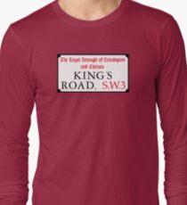 King's Road, Street Sign, London, UK T-Shirt