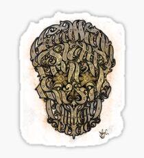 The 7 Sins Skull Sticker