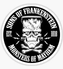 SONS OF FRANKENSTEIN Sticker