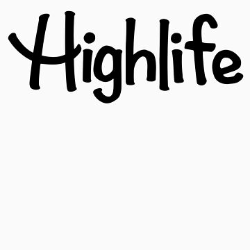 Highlife Shirt (Dark) (Leafless Version) by TheMagicLamp