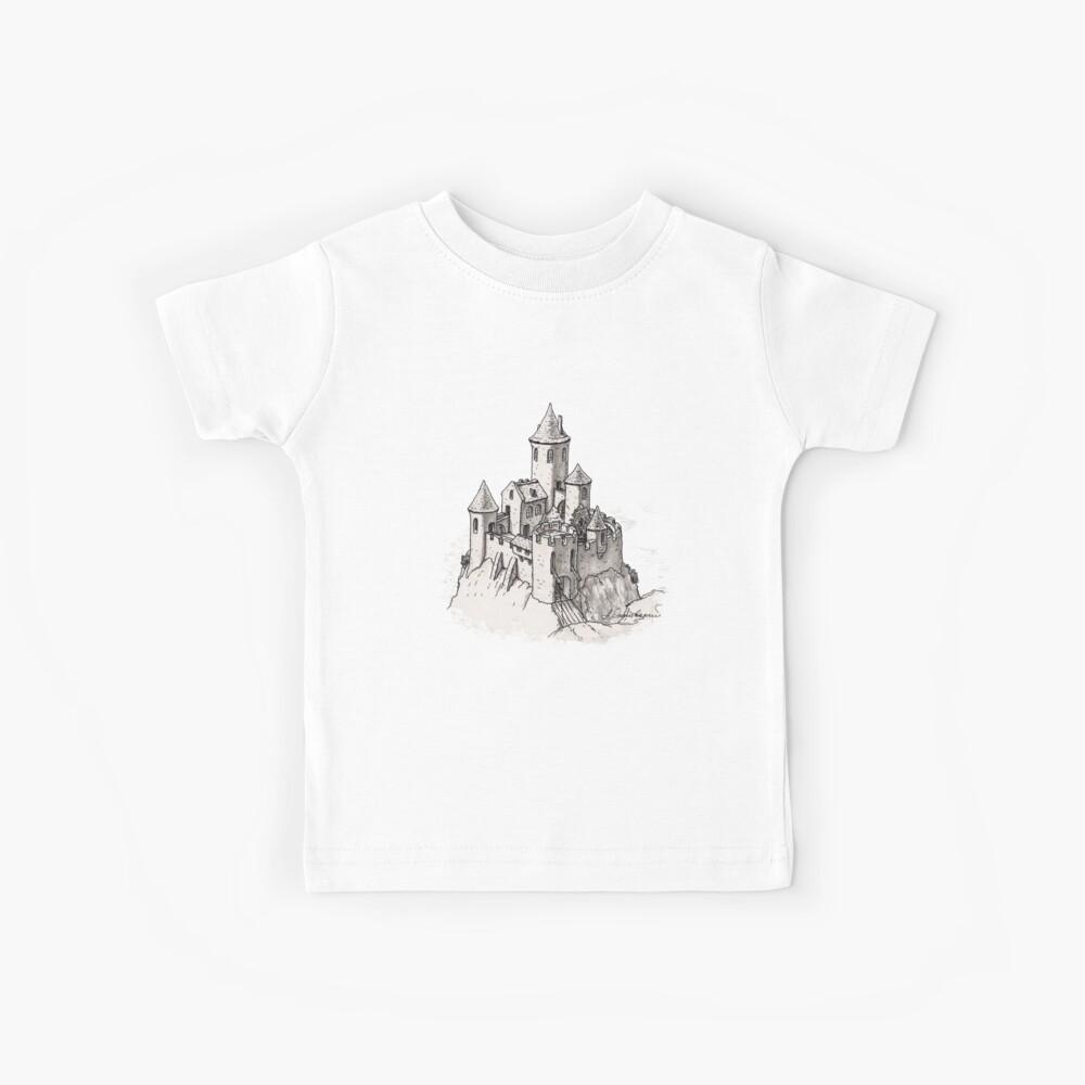 Castillo Camiseta para niños
