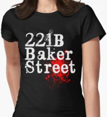 HOLMES, SHERLOCK  Womens Fitted T-Shirt