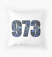 973 Doodle Throw Pillow