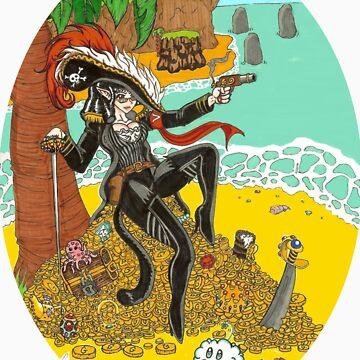 zOMG! Pirate by FreakInkComics