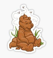 POO BEAR Sticker