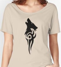 Howling Wolf Tribal Women's Relaxed Fit T-Shirt