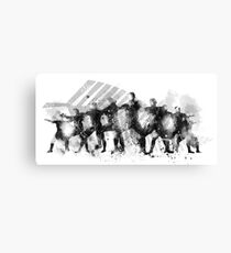 The Haka Canvas Print