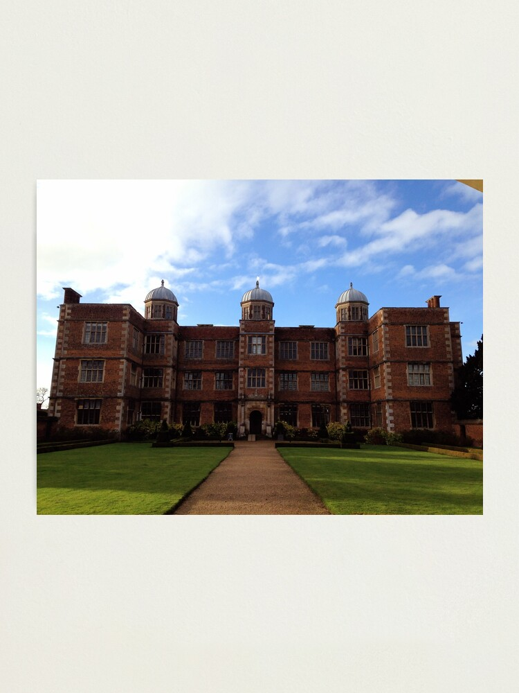 Alternate view of Doddington Hall, Lincolnshire Photographic Print