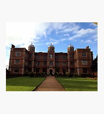 Doddington Hall, Lincolnshire Photographic Print
