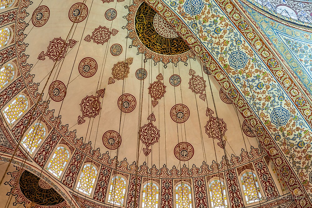 Blue Mosque by Dobromir Dobrinov