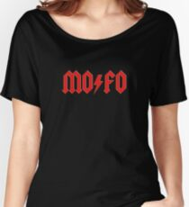 MOFO Rock & Roll Women's Relaxed Fit T-Shirt