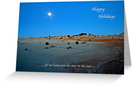 Happy Holidays by Robert Elliott