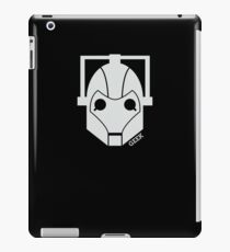 Geek Shirt #1 Cyberman (White) iPad Case/Skin