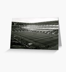 Twickenham. Black and White. Greeting Card
