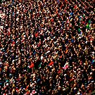 Twickenham crowd by Robert Steadman