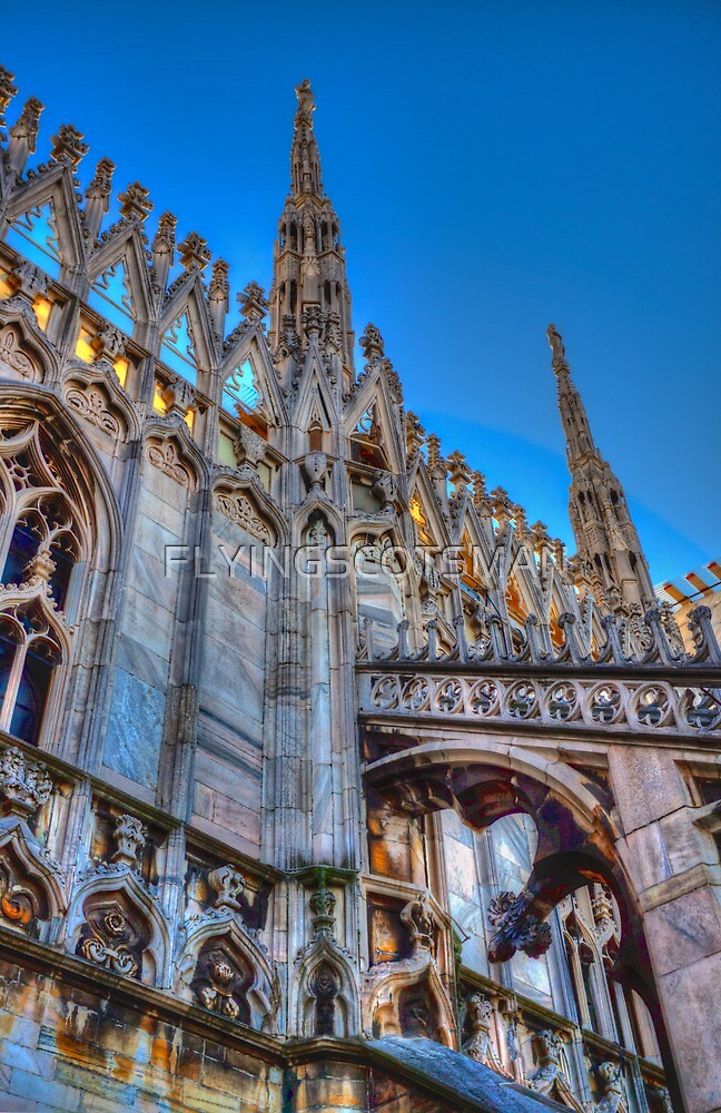 DUOMO CATHEDRAL by FLYINGSCOTSMAN