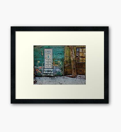 Langer Gas Company Framed Print