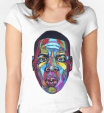 Jay Z Women's Fitted Scoop T-Shirt