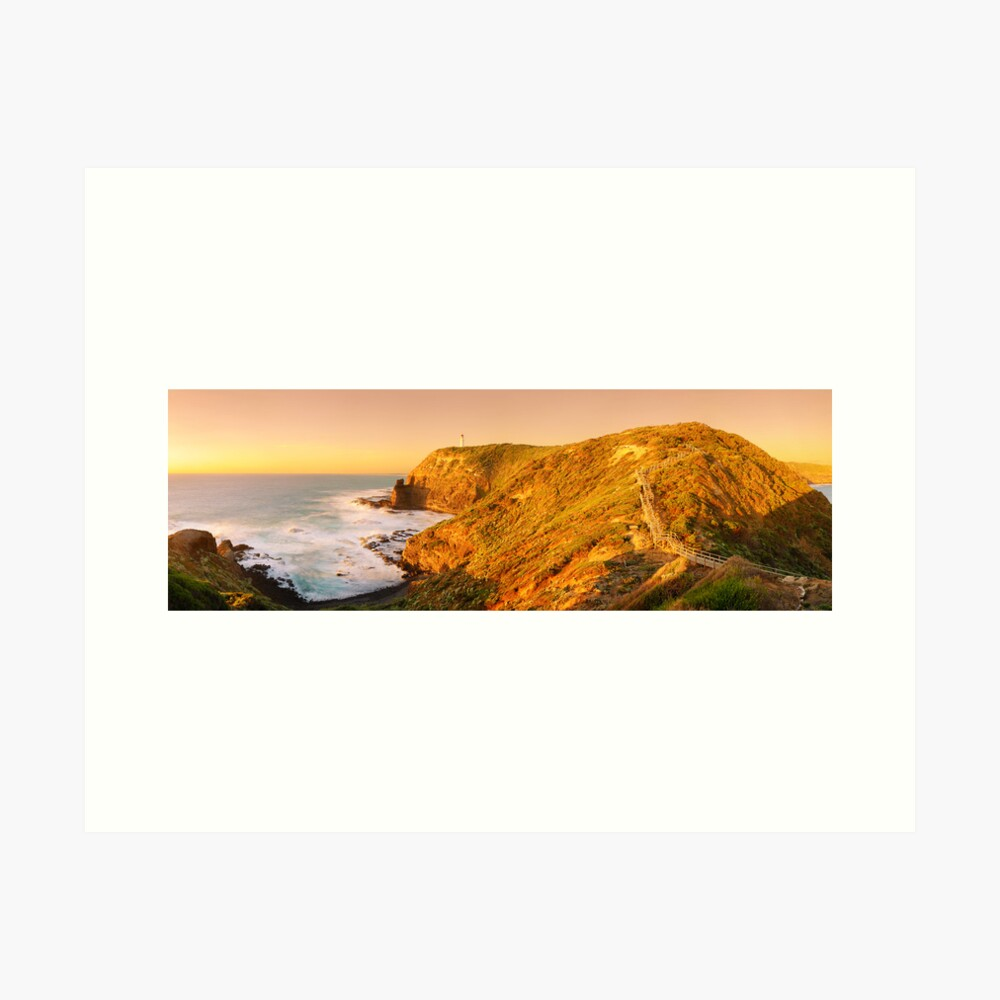 Cape Schank Lighthouse, Mornington Peninsula, Victoria, Australia Art Print