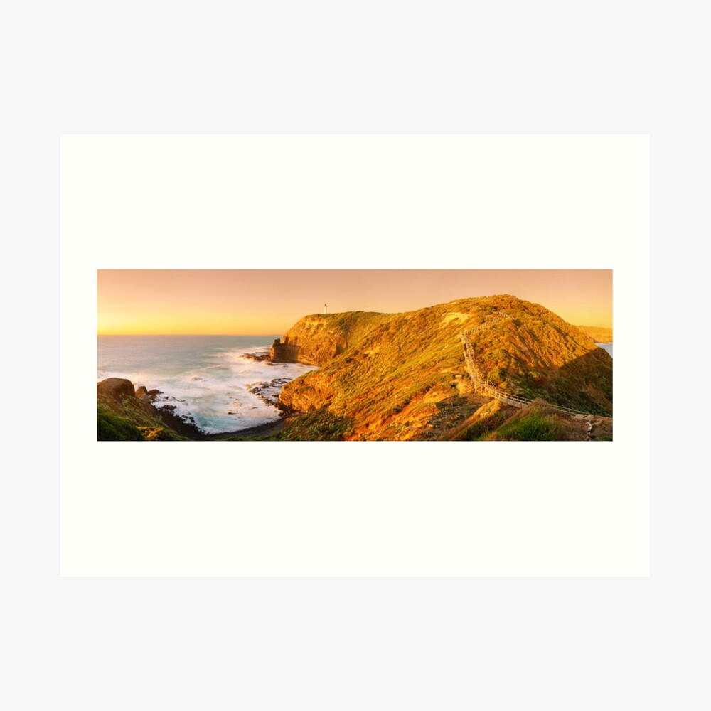 Cape Schank Lighthouse, Mornington Peninsula, Victoria, Australia Art Print