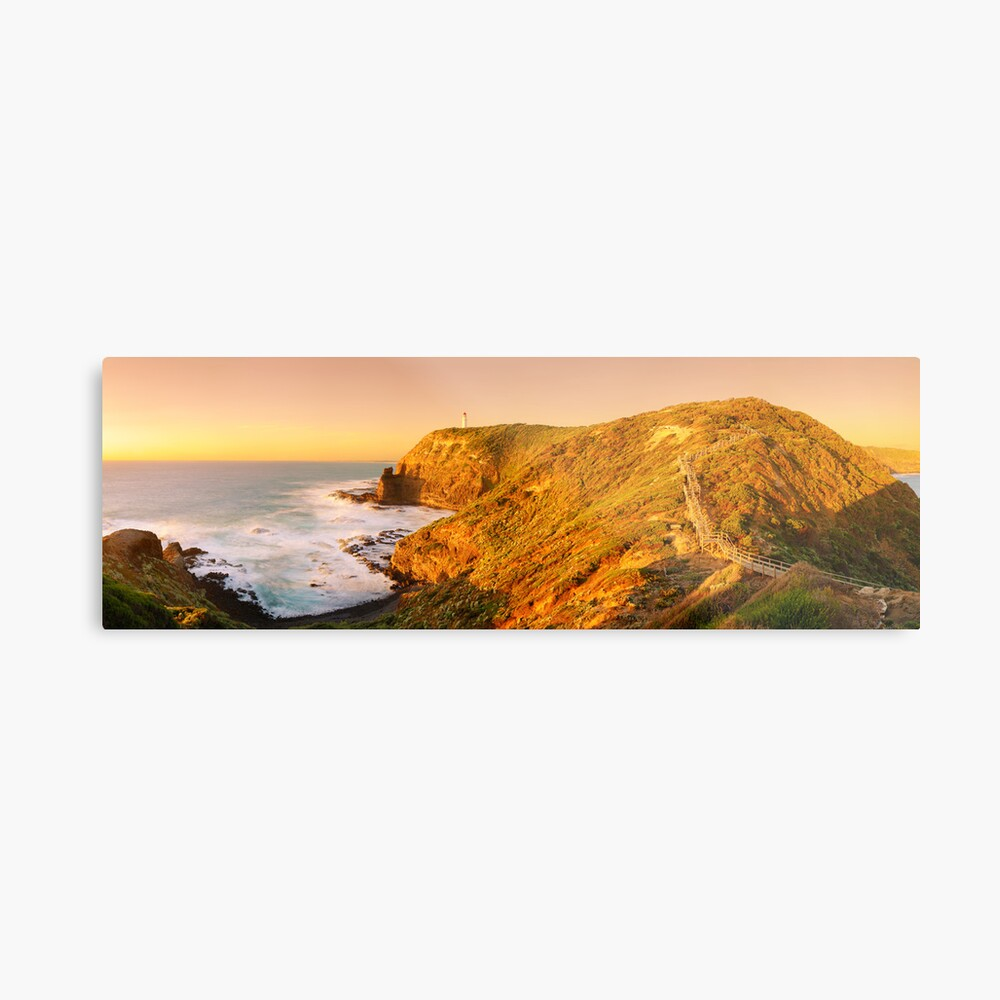 Cape Schank Lighthouse, Mornington Peninsula, Victoria, Australia Metal Print