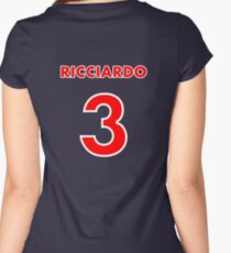 Ricciardo 3 Women's Fitted Scoop T-Shirt