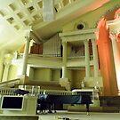 First Pentecostal Church Interior by WildestArt