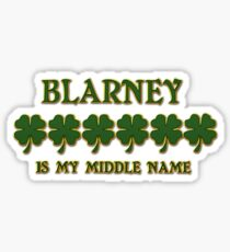 Irish Blarney Sticker